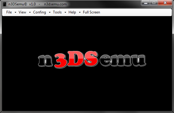 n3DSemu Emulator Screen